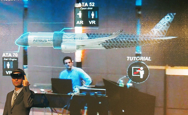 тренажер виртуальной реальности для команды airbus